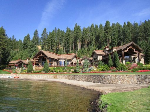 North Idaho Lake Estate